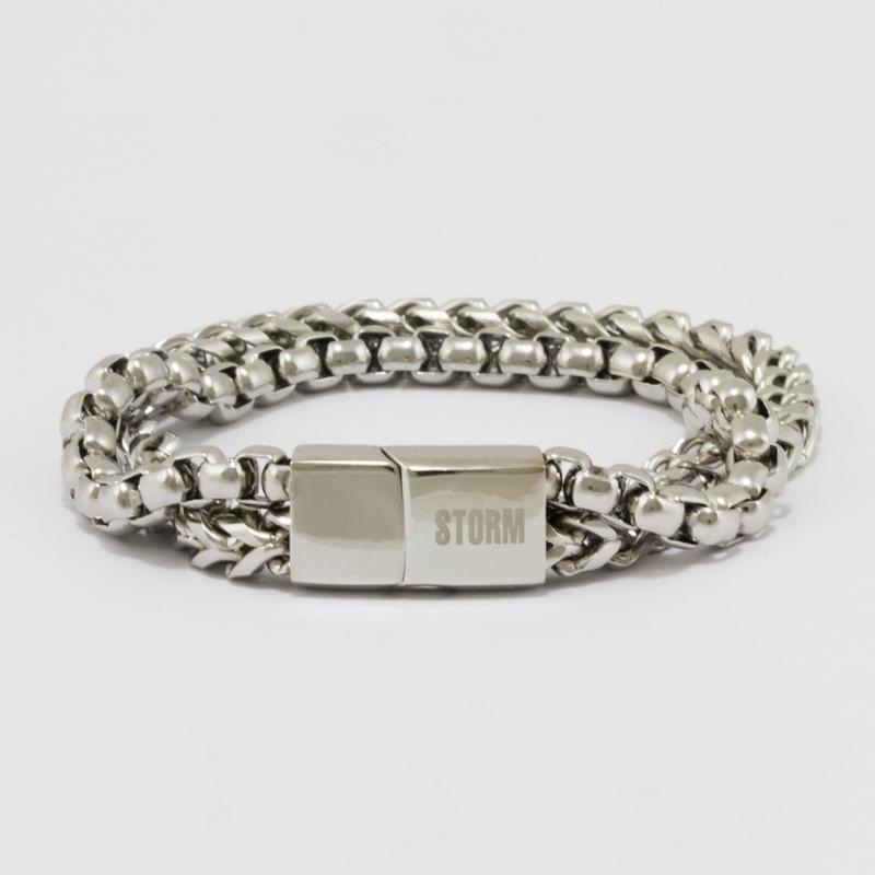 Rhys Bracelet - Silver #