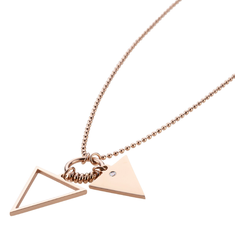 ROHAISE NECKLACE ROSE GOLD