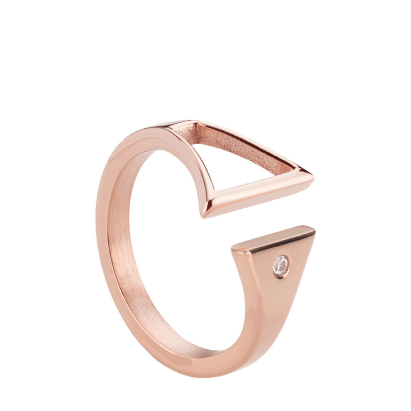 Rohaise Ring - Rose Gold - L