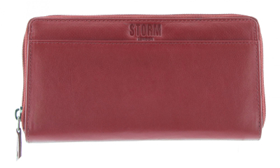 SEABROOK LARGE PURSE RED