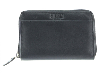 SEABROOK MEDIUM PURSE BLACK