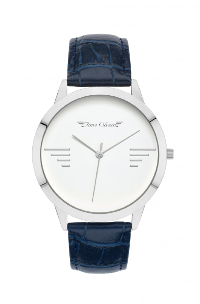 TC BAYSWATER LEATHER SILVER