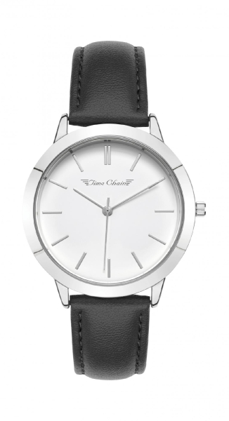 TC HOMERTON LEATHER SILVER