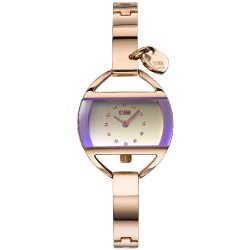 Temptress Charm  Rose Gold - Violet