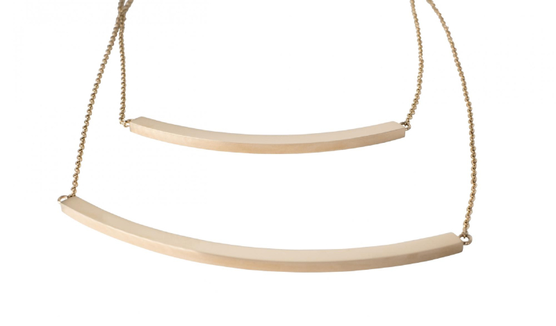 Thea  Necklace - Rose Gold