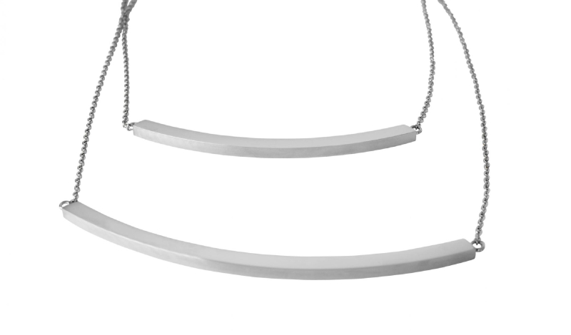 Thea  Necklace - Silver
