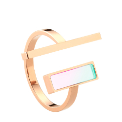 Tigi ring - Rose Gold / M