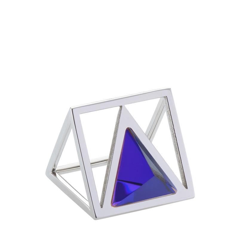Triana Ring - Lazer Blue - M