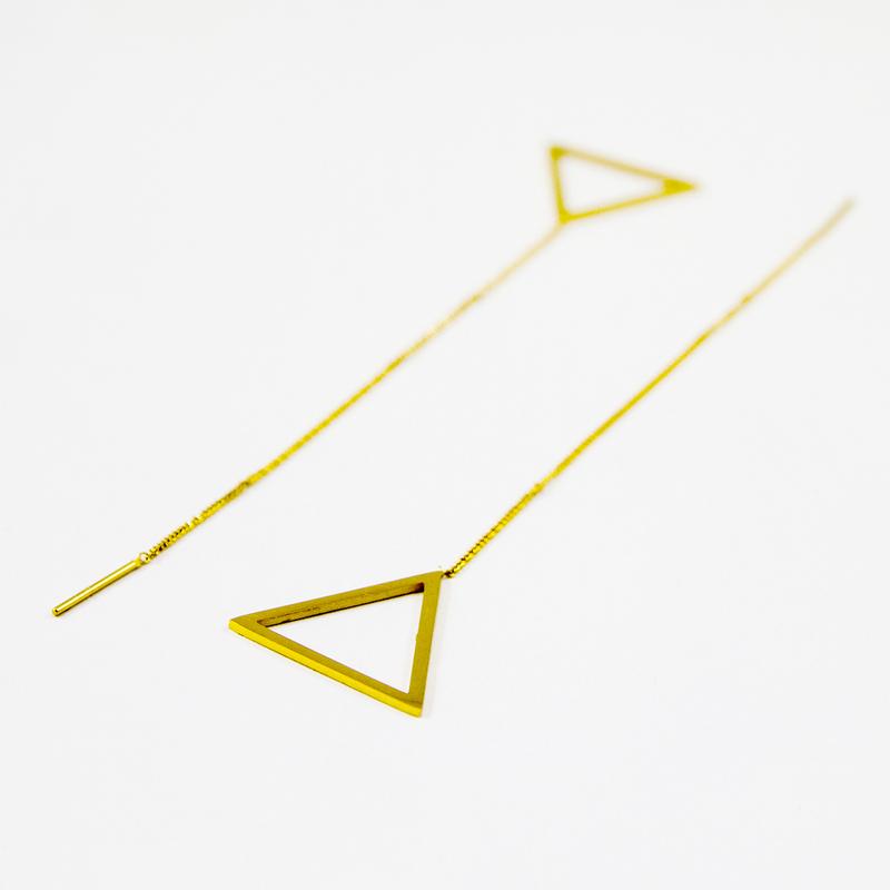 Trima Earring - Gold