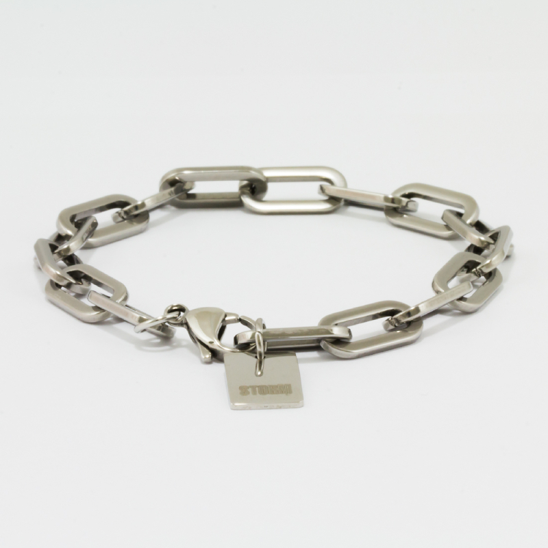Trooper Tag Bracelet - Silver