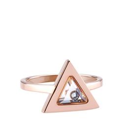 Tryla Ring - Rose Gold - L