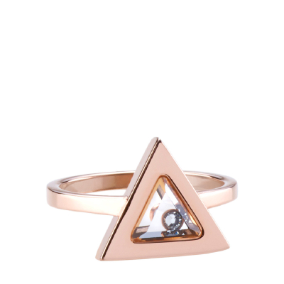 Tryla Ring - Rose Gold - L