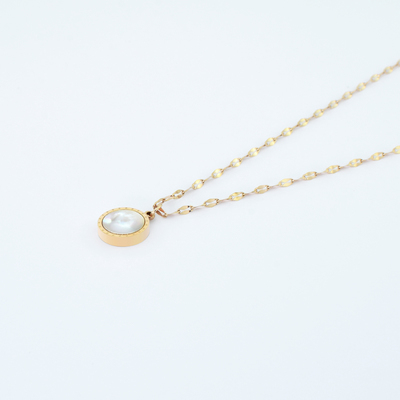 Twyla Necklace - Rose Gold #