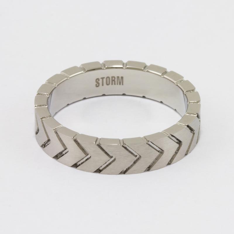 Tyrex ring - Silver - U