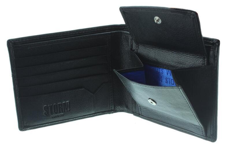 Zayden - Leather Wallet / Black