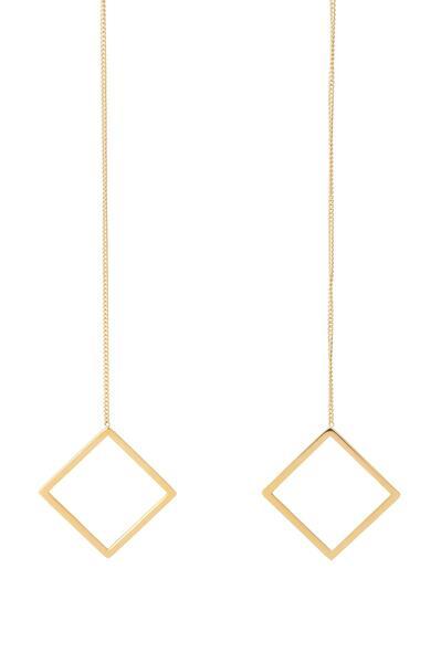 Zu Earring - Gold